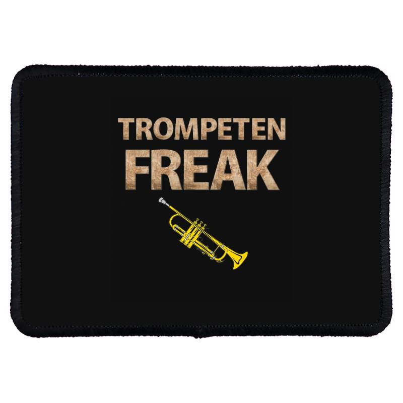 Trumpet Freak Of Brass Music Rectangle Patch | Artistshot