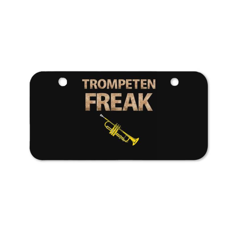Trumpet Freak Of Brass Music Bicycle License Plate | Artistshot