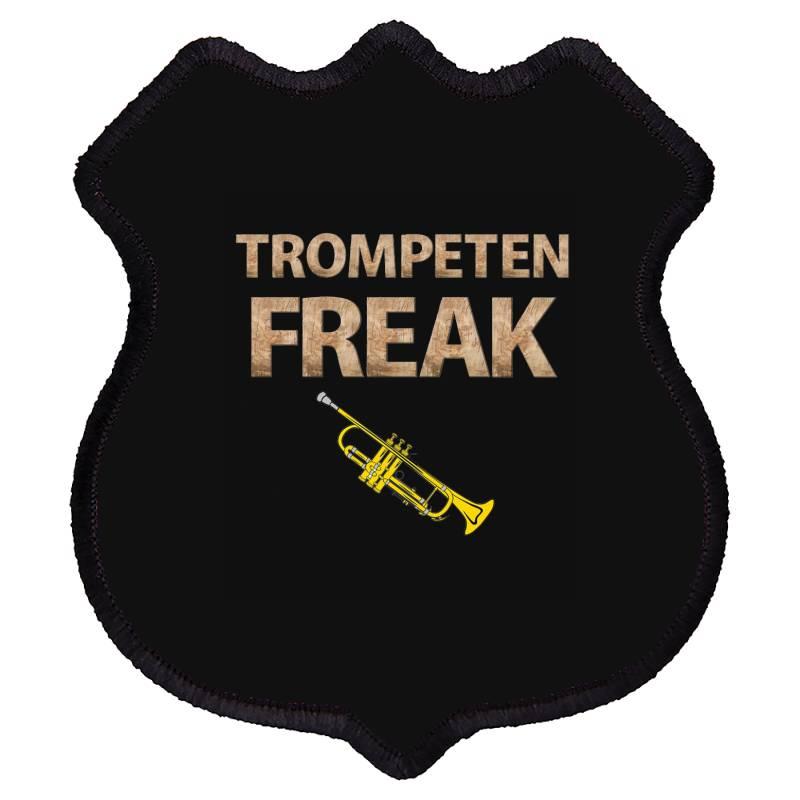 Trumpet Freak Of Brass Music Shield Patch | Artistshot