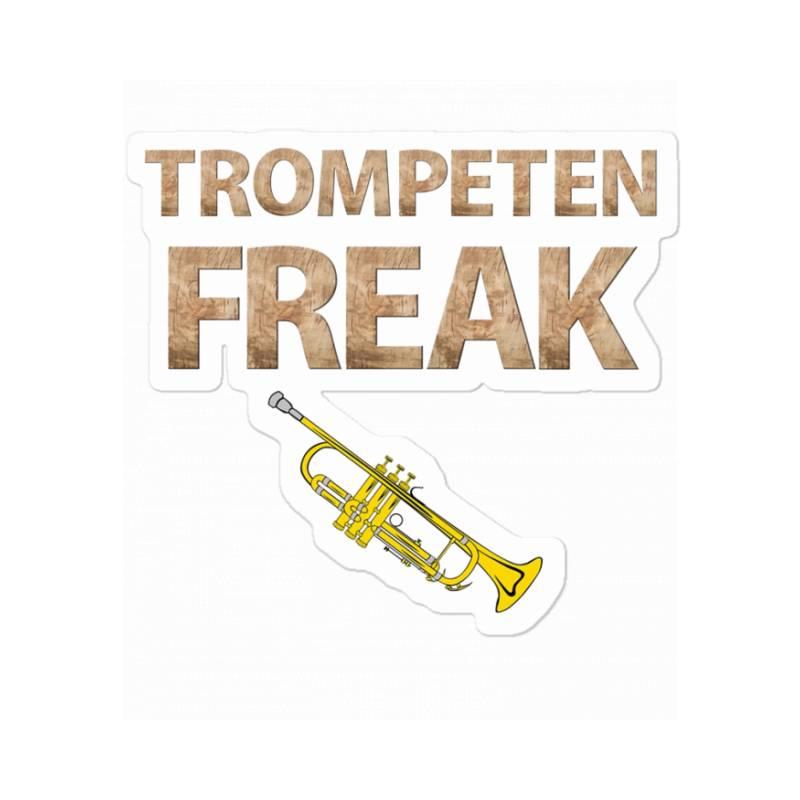 Trumpet Freak Of Brass Music Sticker | Artistshot