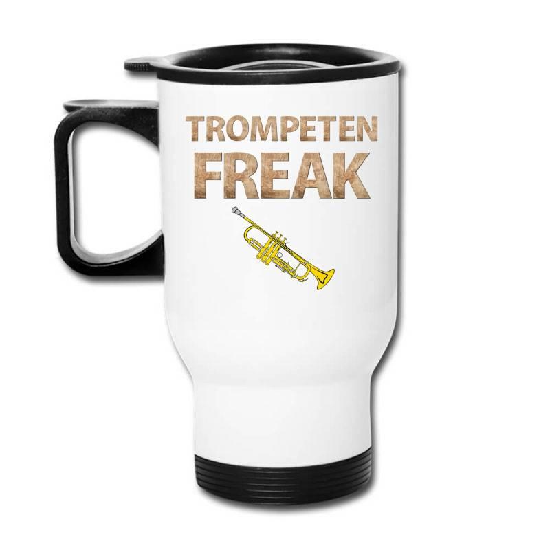 Trumpet Freak Of Brass Music Travel Mug | Artistshot