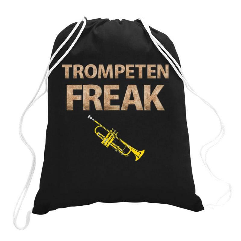 Trumpet Freak Of Brass Music Drawstring Bags | Artistshot
