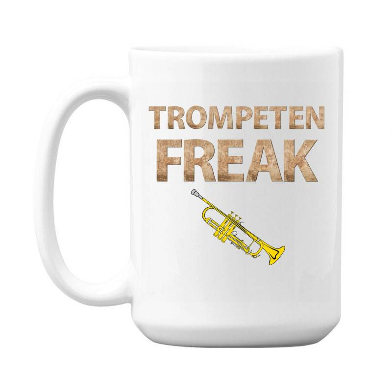 Trumpet Freak Of Brass Music 15 Oz Coffe Mug | Artistshot