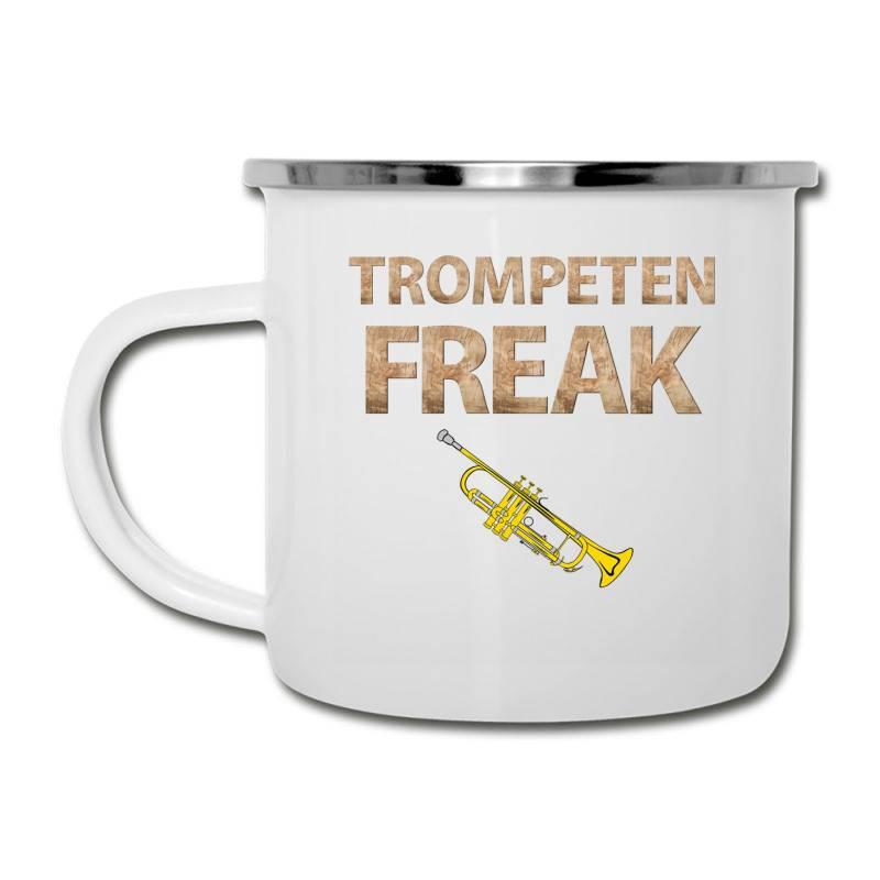 Trumpet Freak Of Brass Music Camper Cup | Artistshot