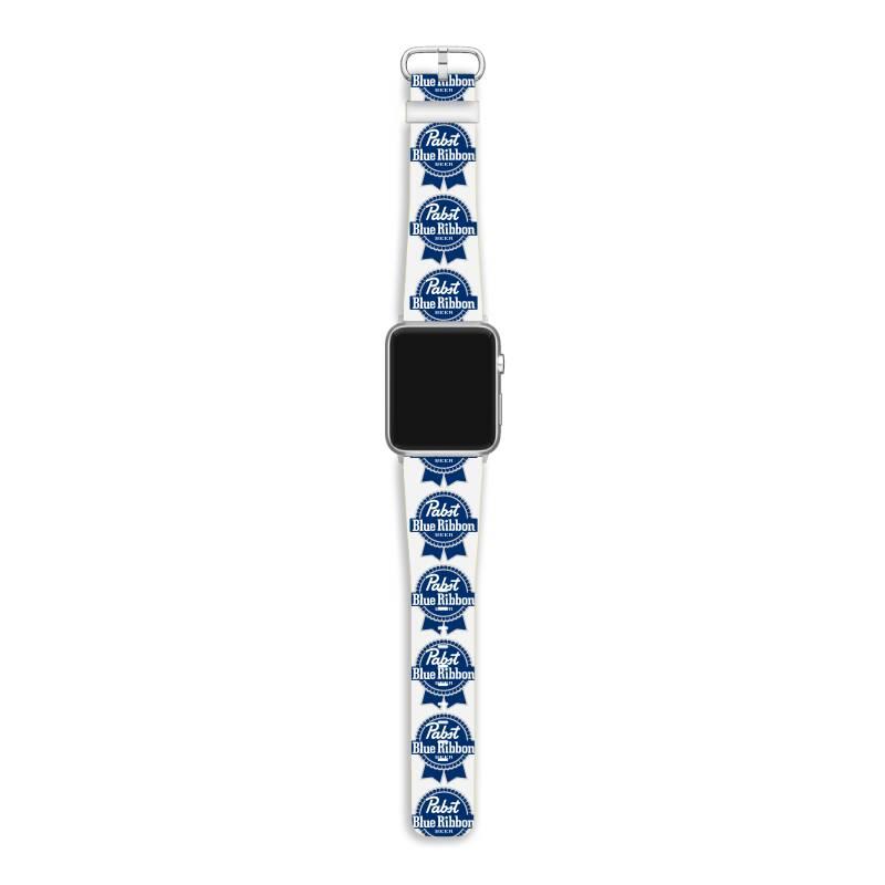 Pabst Blue Ribbon Apple Watch Band   Artistshot
