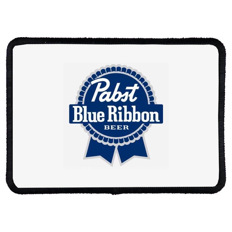 Pabst Blue Ribbon Rectangle Patch   Artistshot