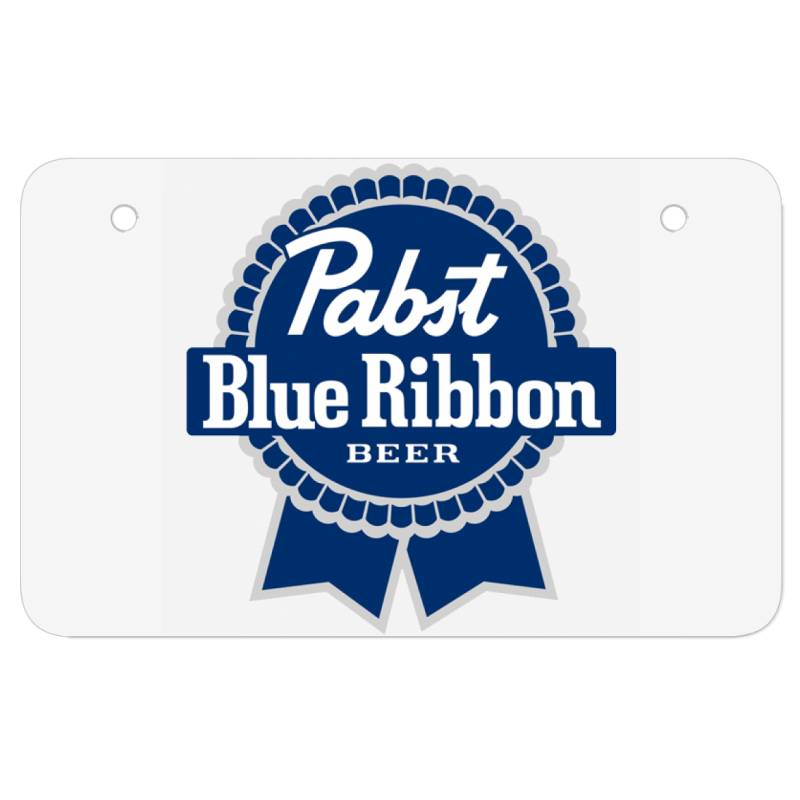 Pabst Blue Ribbon Atv License Plate | Artistshot