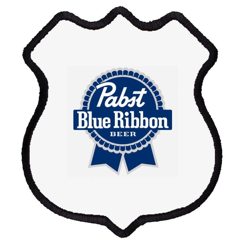 Pabst Blue Ribbon Shield Patch | Artistshot