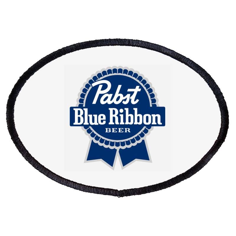 Pabst Blue Ribbon Oval Patch | Artistshot