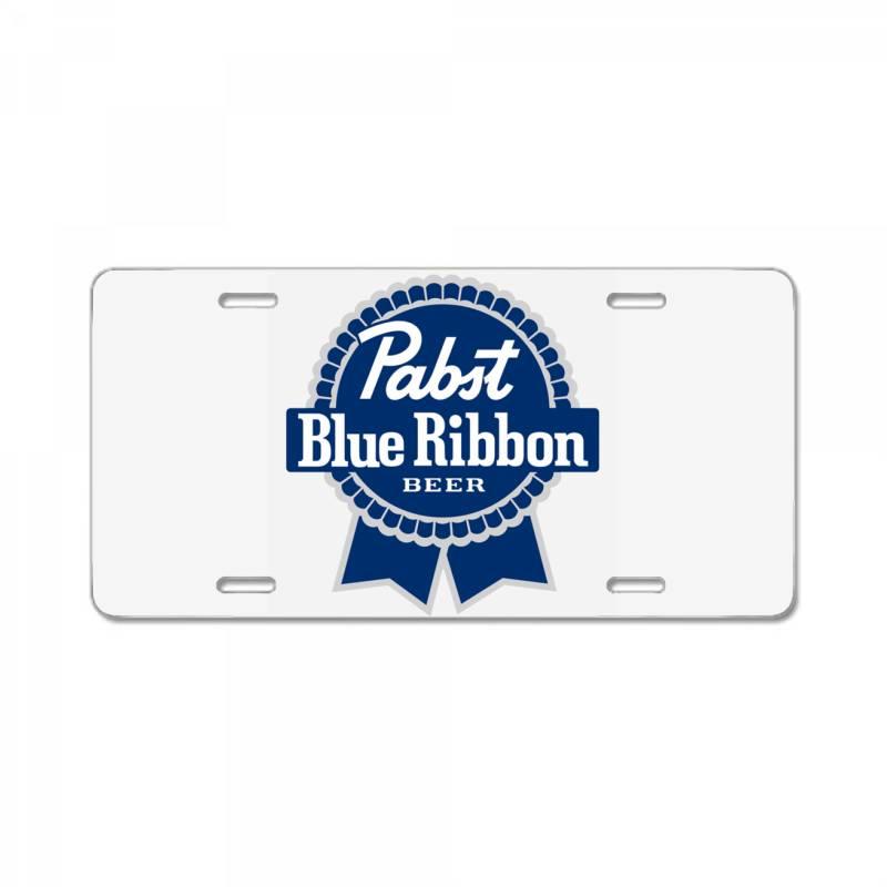 Pabst Blue Ribbon License Plate   Artistshot