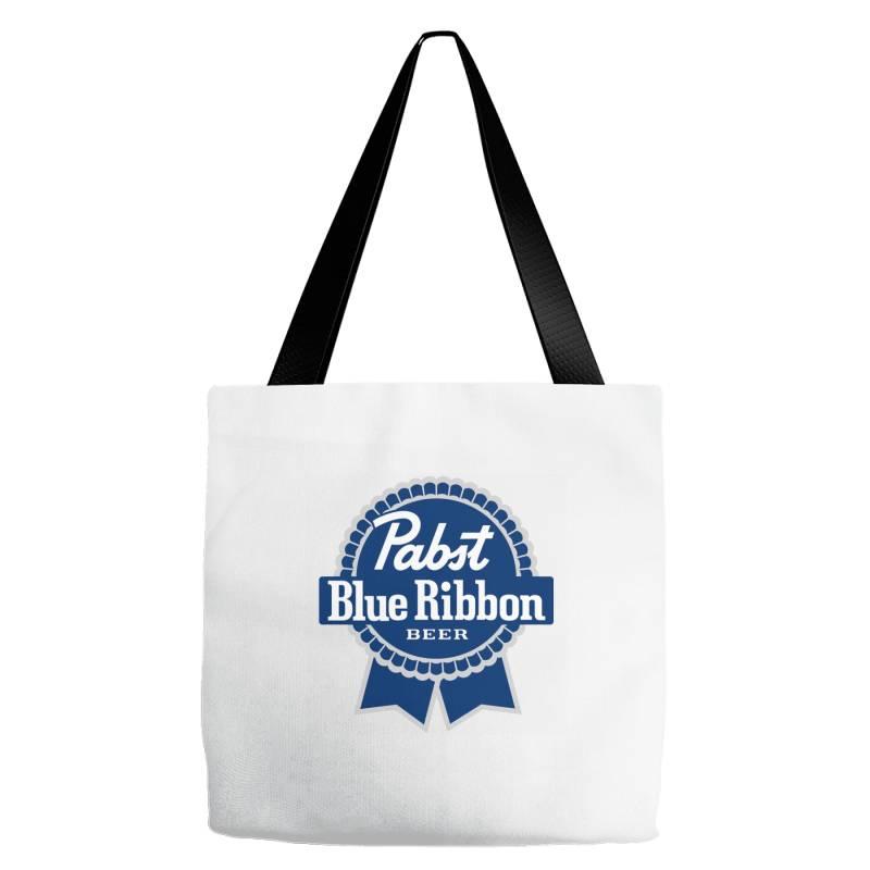 Pabst Blue Ribbon Tote Bags | Artistshot