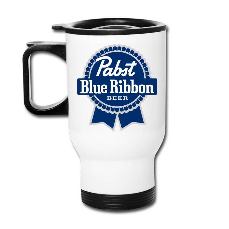 Pabst Blue Ribbon Travel Mug | Artistshot