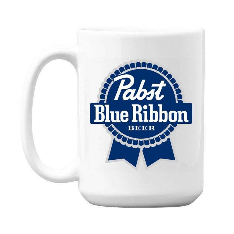 Pabst Blue Ribbon 15 Oz Coffe Mug   Artistshot