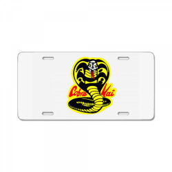 Cobra Kai Snake License Plate | Artistshot