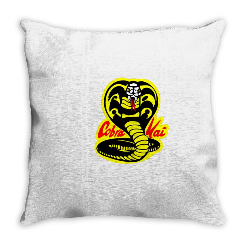 Cobra Kai Snake Throw Pillow | Artistshot