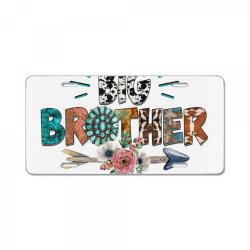 big brother cowhide License Plate | Artistshot