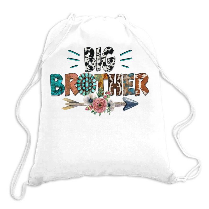 Big Brother Cowhide Drawstring Bags | Artistshot