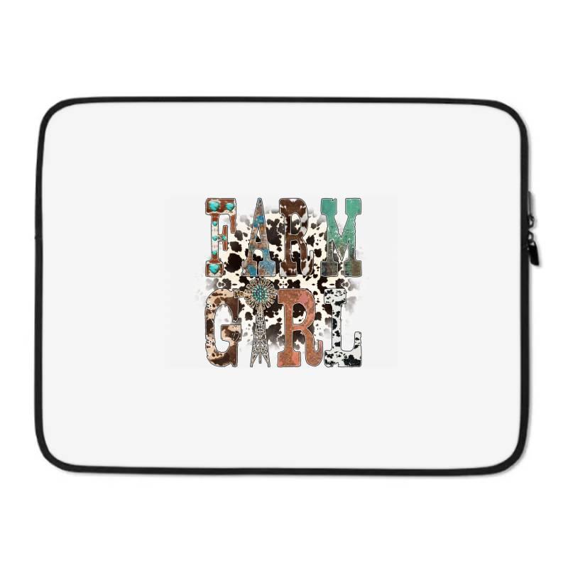 Farm Girl Laptop Sleeve | Artistshot