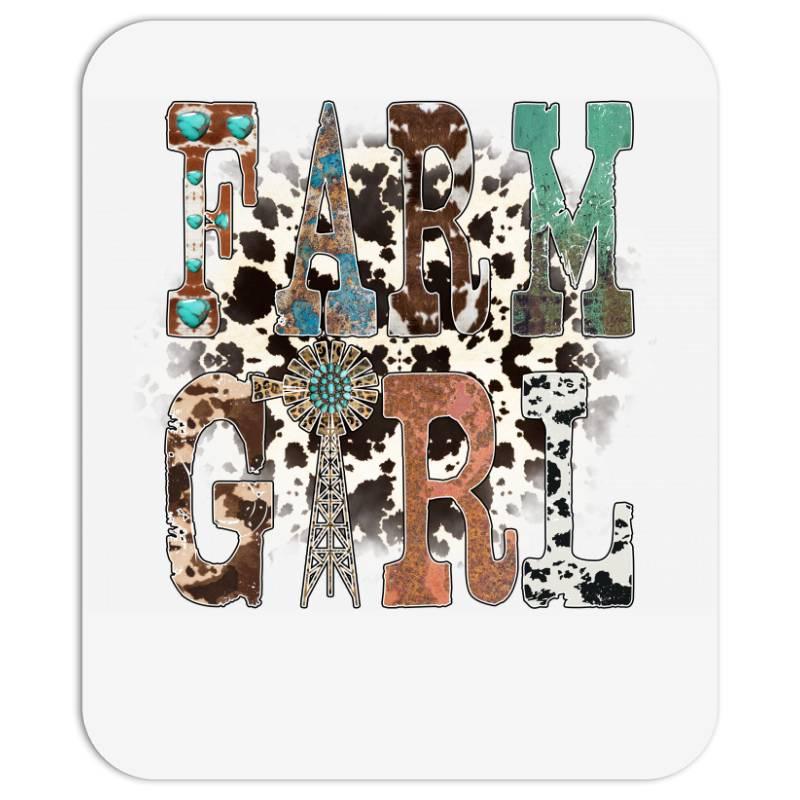Farm Girl Mousepad | Artistshot