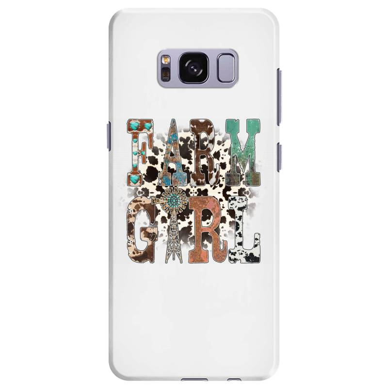 Farm Girl Samsung Galaxy S8 Plus Case | Artistshot