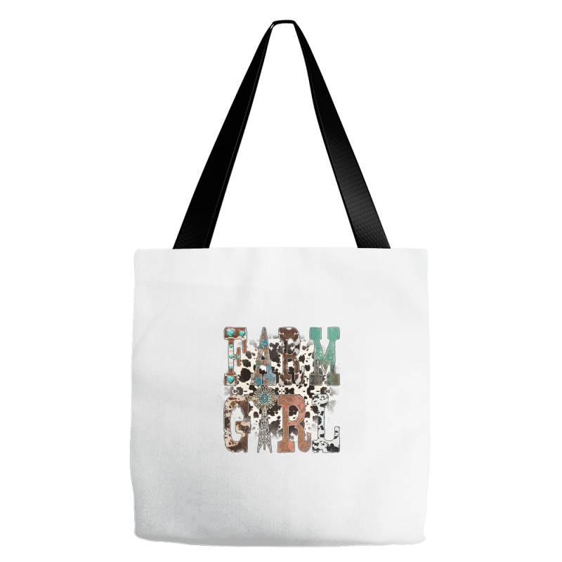 Farm Girl Tote Bags | Artistshot