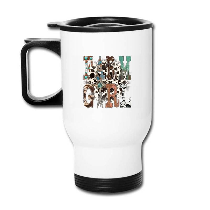 Farm Girl Travel Mug | Artistshot