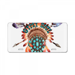 gypsy soul License Plate | Artistshot