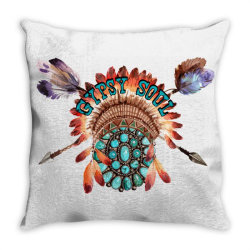 gypsy soul Throw Pillow | Artistshot