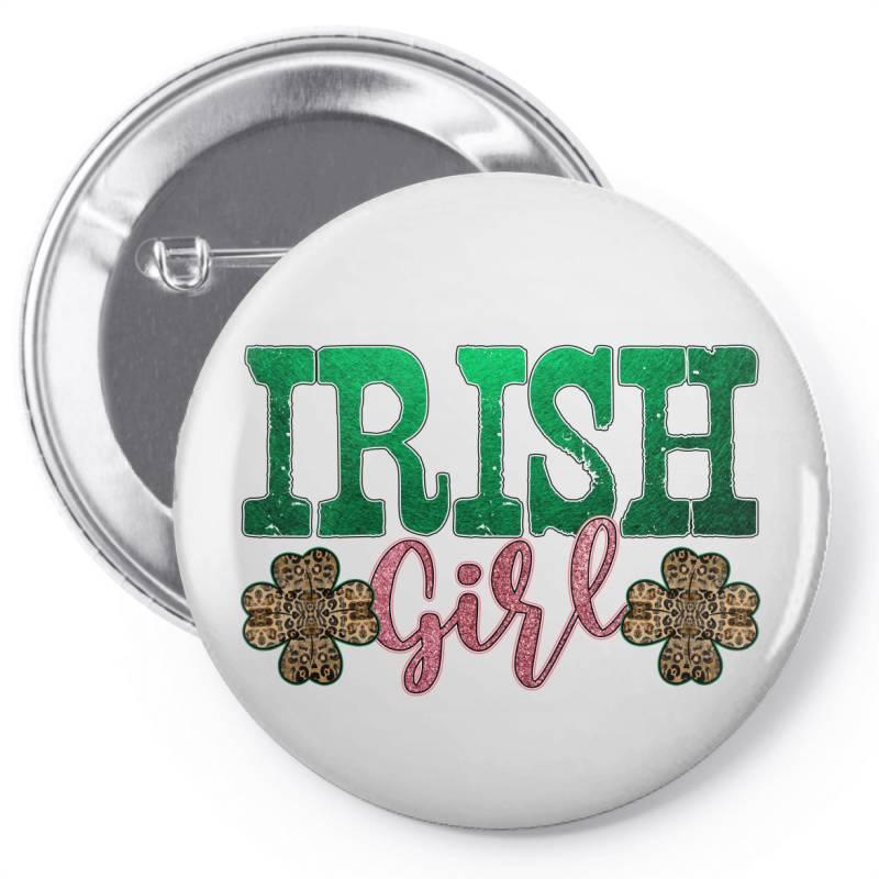 Irish Girl Pin-back Button | Artistshot