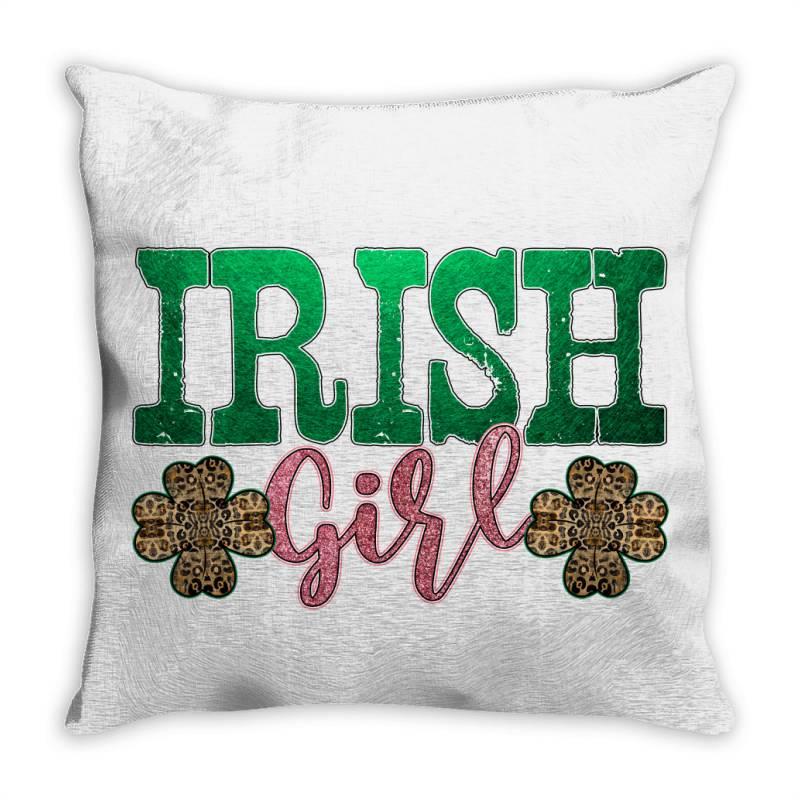 Irish Girl Throw Pillow   Artistshot