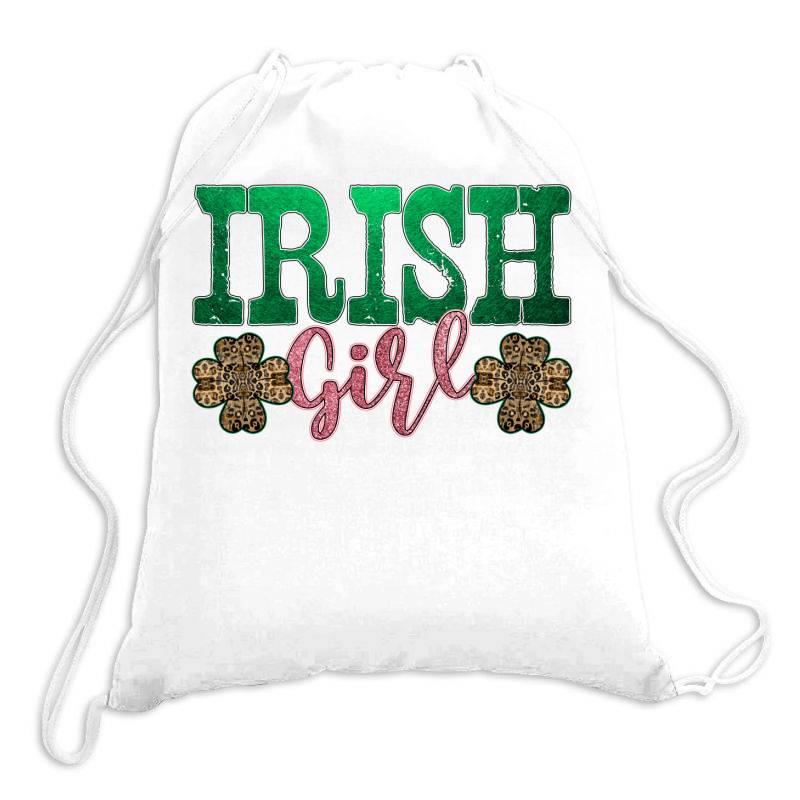 Irish Girl Drawstring Bags | Artistshot