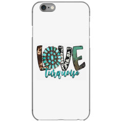 love turquoise iPhone 6/6s Case | Artistshot