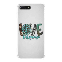 love turquoise iPhone 7 Plus Case | Artistshot