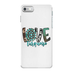 love turquoise iPhone 7 Case | Artistshot