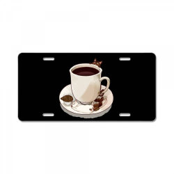 Coffee Love License Plate | Artistshot