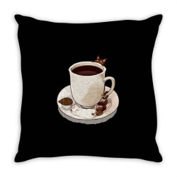 Coffee Love Throw Pillow | Artistshot