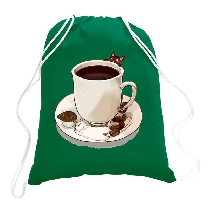 Coffee Love Drawstring Bags | Artistshot