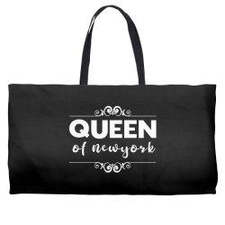 queen of Newyork Weekender Totes | Artistshot