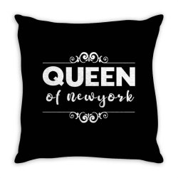 queen of Newyork Throw Pillow | Artistshot