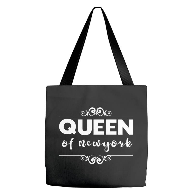 Queen Of Newyork Tote Bags | Artistshot