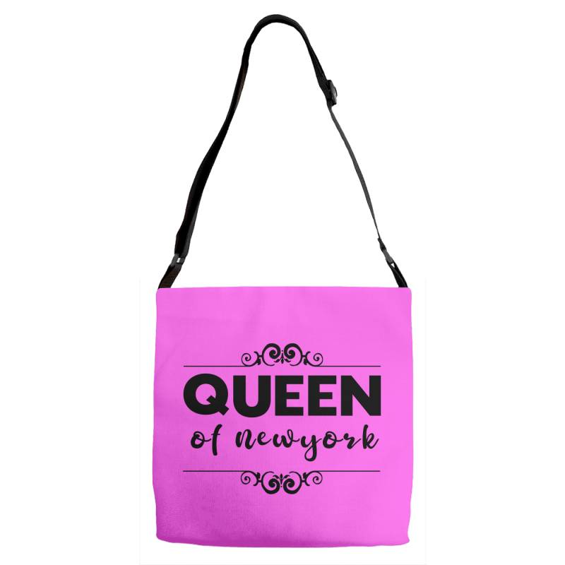 Queen Of Newyork Adjustable Strap Totes | Artistshot