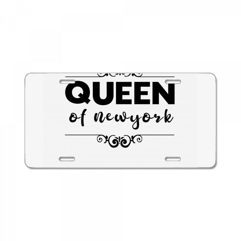 Queen Of Newyork License Plate | Artistshot