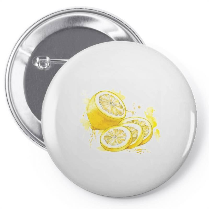 Lemon Pin-back Button | Artistshot