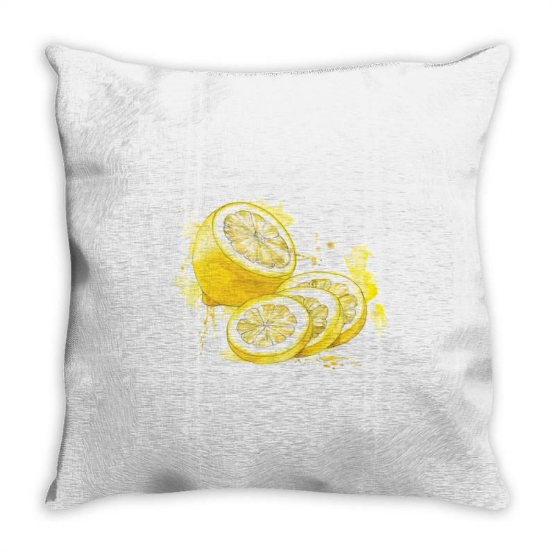 Lemon Throw Pillow   Artistshot