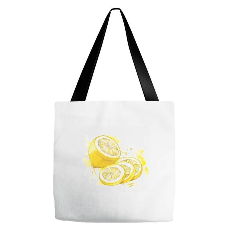 Lemon Tote Bags | Artistshot