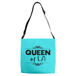 Queen of LA Adjustable Strap Totes | Artistshot