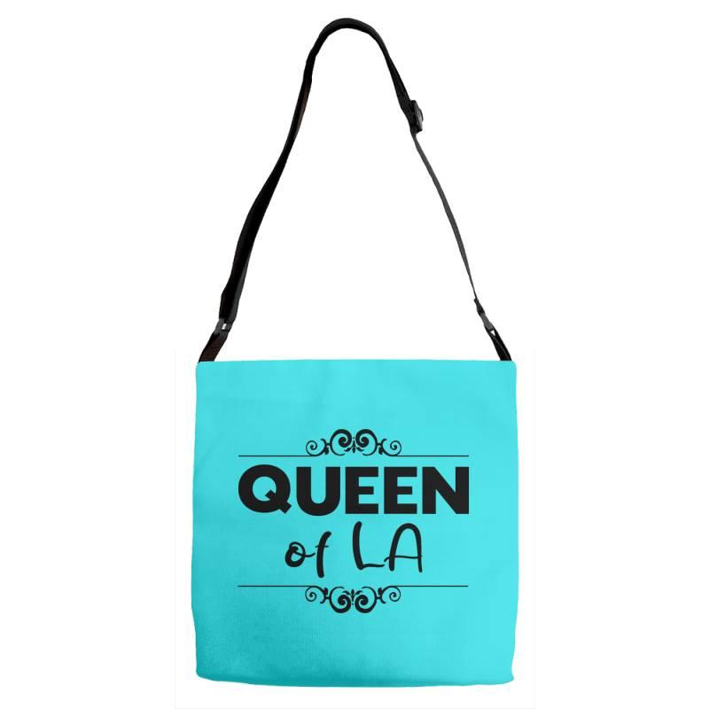 Queen Of La Adjustable Strap Totes | Artistshot