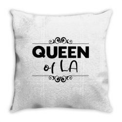 Queen of LA Throw Pillow | Artistshot