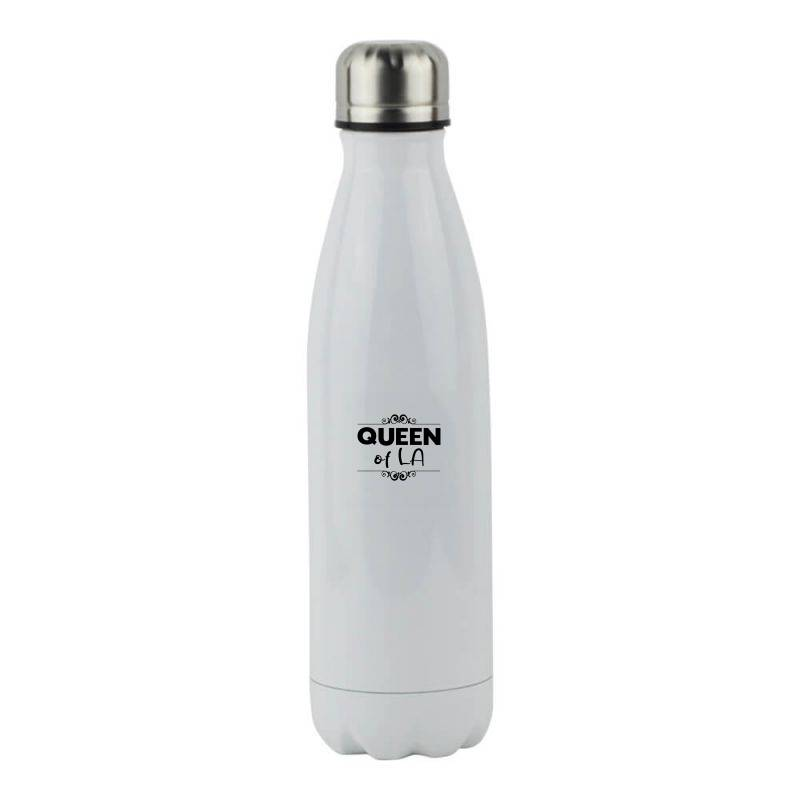 Queen Of La Stainless Steel Water Bottle | Artistshot