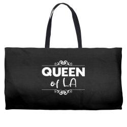 Queen of LA Weekender Totes | Artistshot